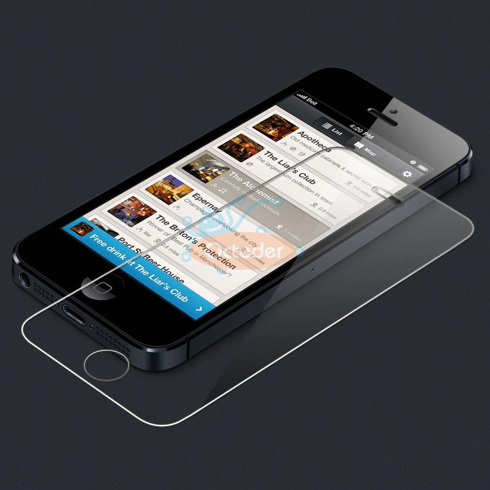 Maccessorize Iphone Tempered Glass 4g 4s 5 5s 5c 6 6s Plus